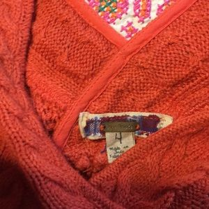 Free People Mixed Sweater and Ribbon Skirt  - M